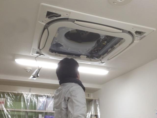 【東京都瑞穂町】業務用エアコン更新工事