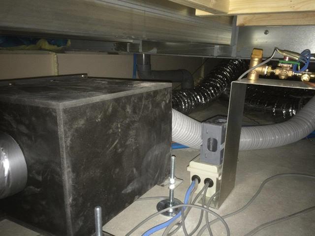 【東京都足立区】24時間換気システムへ加湿ユニット組み込み工事