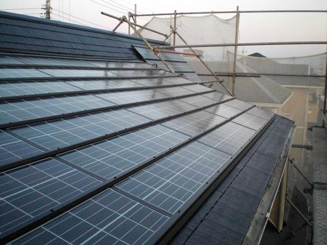 【東京都あきる野市】太陽光発電システム2.9kw設置工事