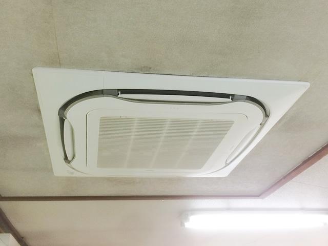 【東京都東村山市】業務用天井エアコン洗浄工事