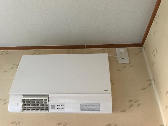 【東京都あきる野市】住宅 洗面暖房機設置・ルームエアコン入れ替え