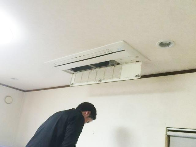 【東京都昭島市】住宅 エアコンフィルター掃除
