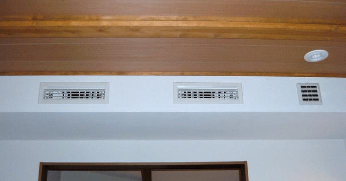 天井・壁埋込タイプの例1
