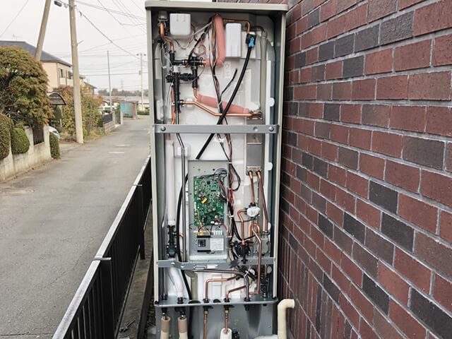 【埼玉県入間市】電気温水器からエコキュートへの交換工事