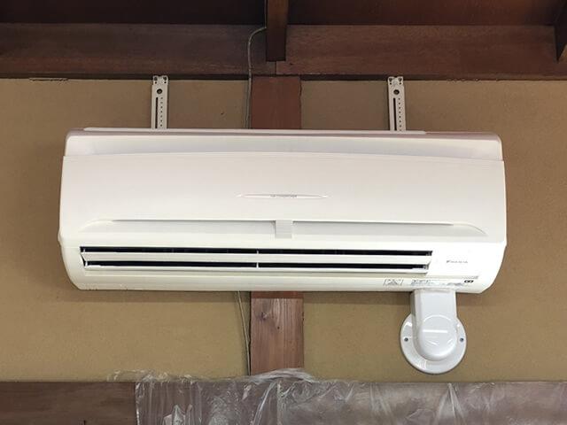 【東京都あきる野市】地区会館 業務用エアコン設置工事