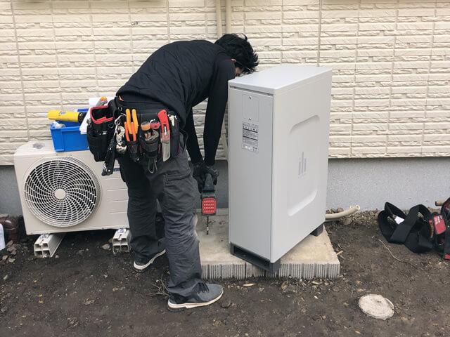 【東京都あきる野市】住宅 蓄電池設置工事