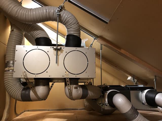 【神奈川県二宮町】住宅 ナショナル製全館空調システム交換工事