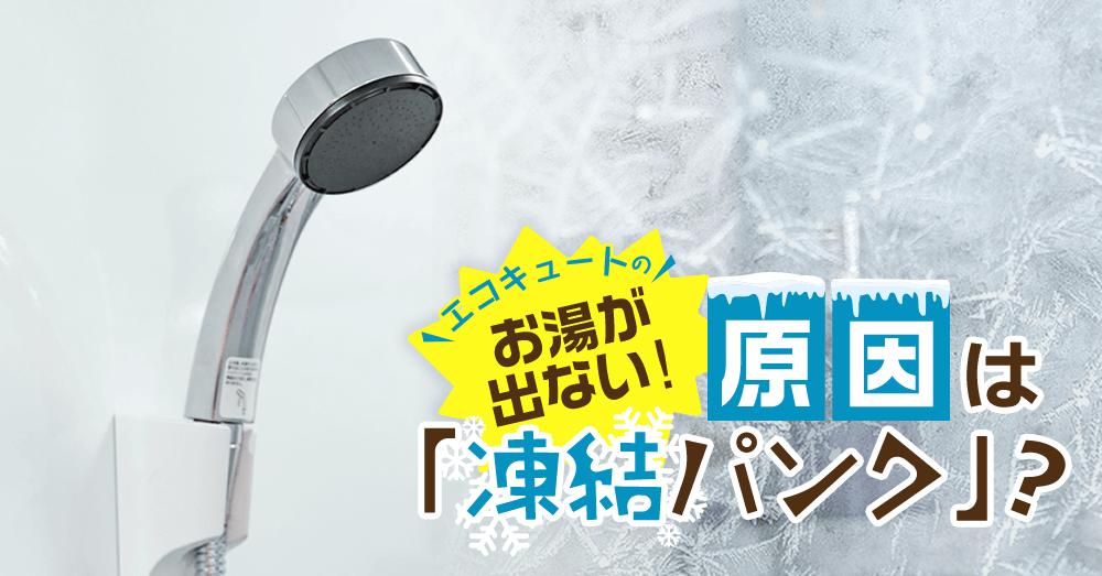 器 が 出 お湯 ない 凍結 給湯